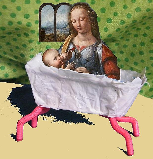 Madonna in der                             Badewanne